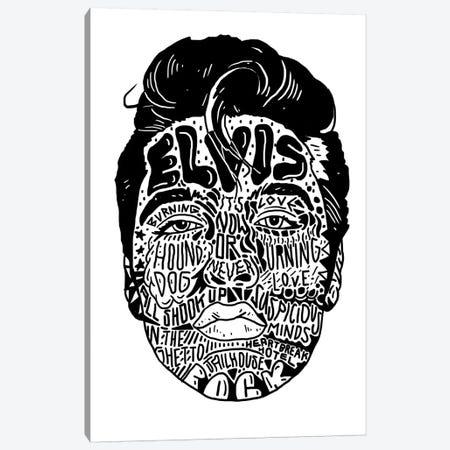 Elvis Canvas Print #CZA53} by Nick Cocozza Canvas Art