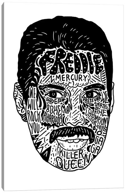 Freddie Canvas Art Print
