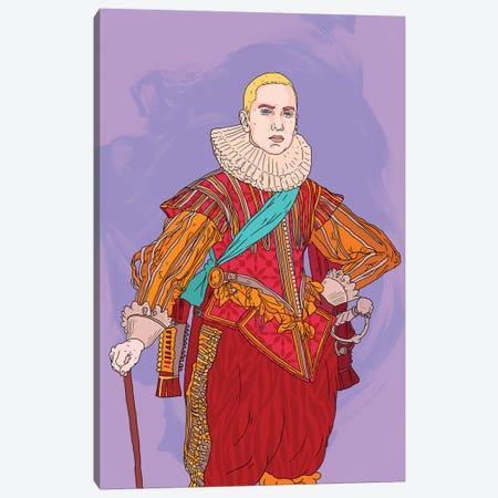 Eminem I Canvas Print #CZA57} by Nick Cocozza Art Print