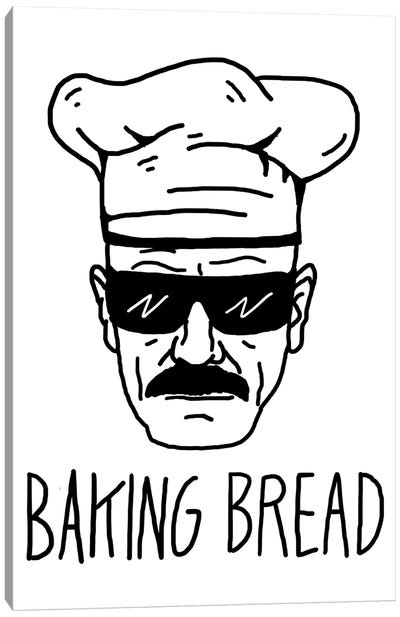 Baking Bread Canvas Art Print