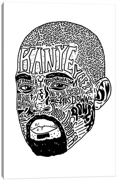 Kanye II Canvas Art Print