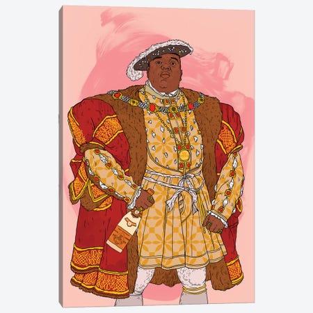 Notorious BIG Canvas Print #CZA62} by Nick Cocozza Canvas Print