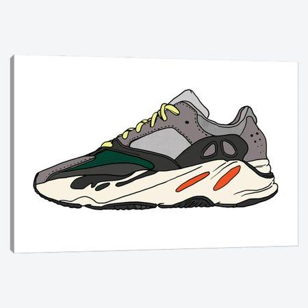 Sneaker I Canvas Print #CZA66} by Nick Cocozza Canvas Art