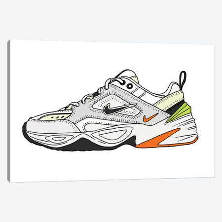 Sneaker II Canvas Print #CZA67} by Nick Cocozza Canvas Art
