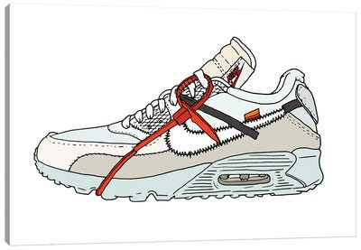 Sneaker III Canvas Art Print