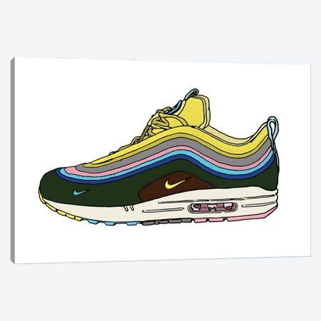 Sneaker IV Canvas Print #CZA69} by Nick Cocozza Art Print