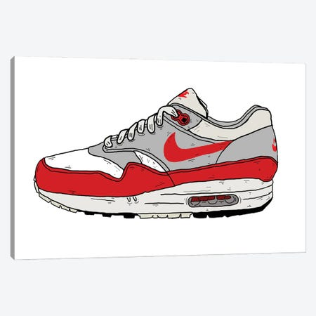 OG Airmax Canvas Print #CZA75} by Nick Cocozza Canvas Print