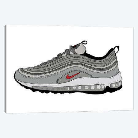Airmax 97 Canvas Print #CZA77} by Nick Cocozza Canvas Print