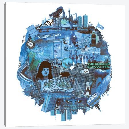Glasgow Canvas Print #CZA79} by Nick Cocozza Canvas Wall Art