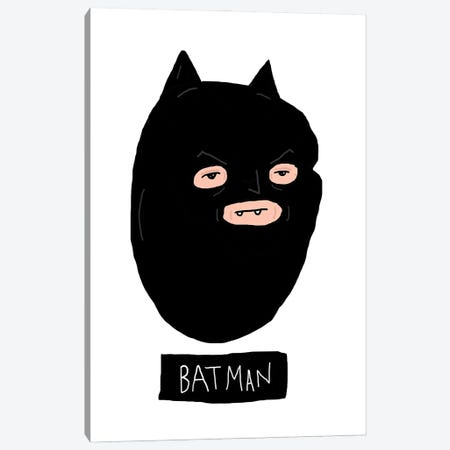 Batman Canvas Print #CZA83} by Nick Cocozza Art Print