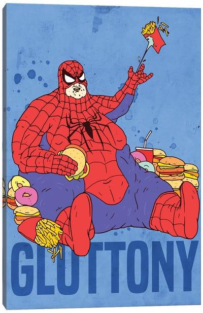 Gluttony Canvas Art Print
