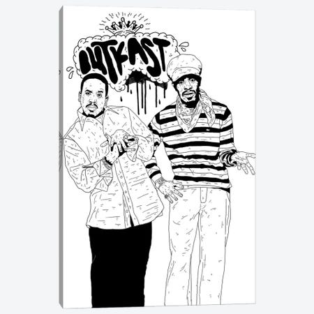 Outkast 3-Piece Canvas #CZA94} by Nick Cocozza Canvas Art Print