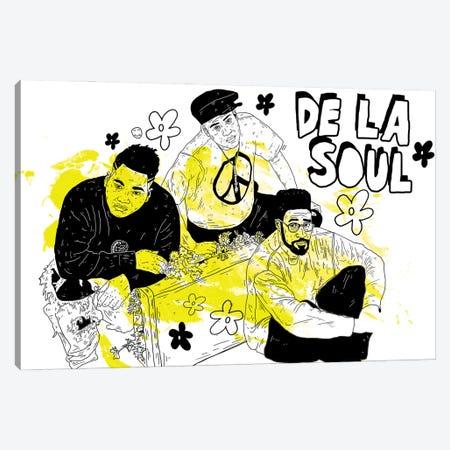 De La Soul Canvas Print #CZA97} by Nick Cocozza Canvas Print