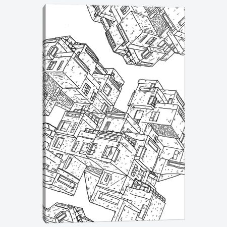 Brutalist Canvas Print #CZA98} by Nick Cocozza Canvas Wall Art