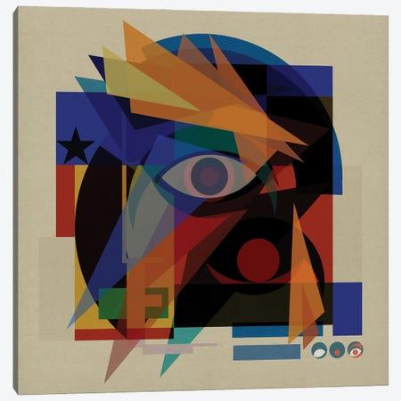 Space Face Canvas Print #CZC101} by Czar Catstick Canvas Print