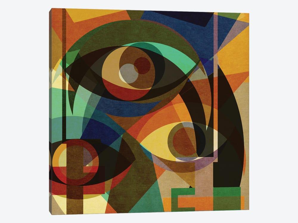 Space Shapes III by Czar Catstick 1-piece Canvas Artwork