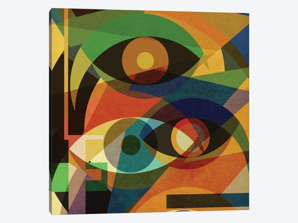 Space Shapes IV by Czar Catstick 1-piece Art Print