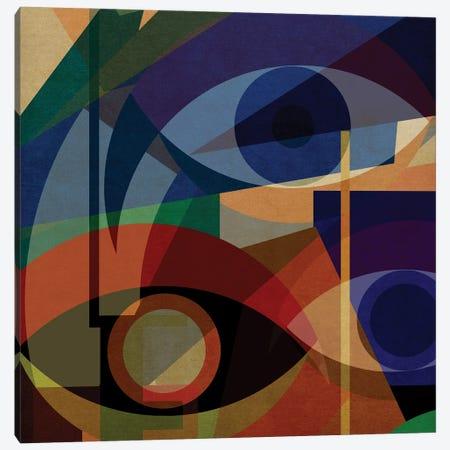 Space Shapes V Canvas Print #CZC106} by Czar Catstick Canvas Art