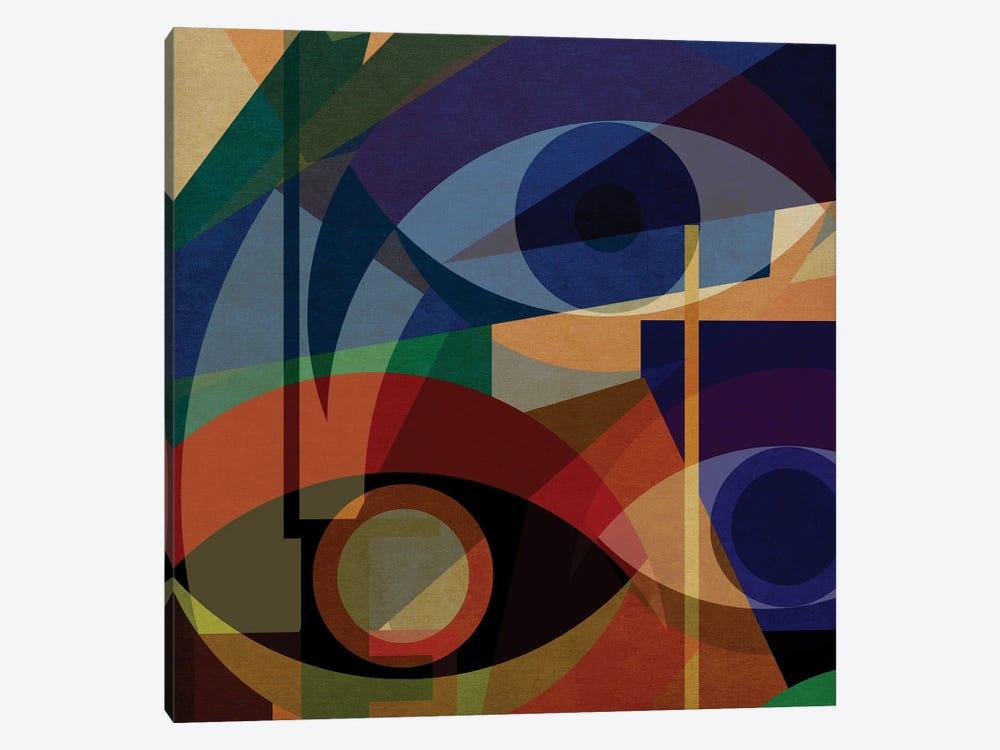 Space Shapes V by Czar Catstick 1-piece Canvas Art