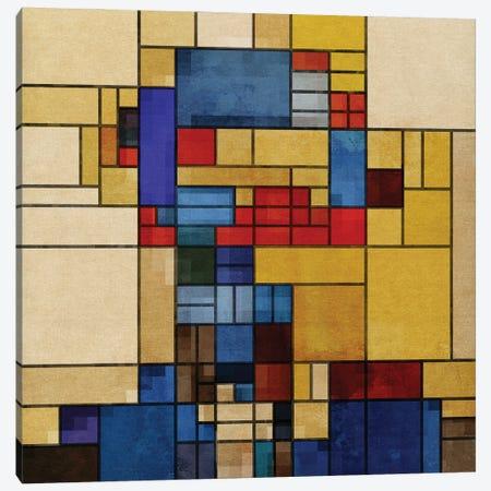 Square Piet Canvas Print #CZC108} by Czar Catstick Art Print