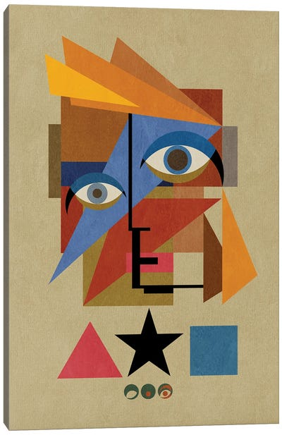 Bauwie Bauhaus IV Canvas Art Print