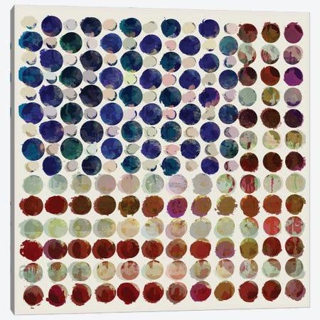 Stars, Stripes and Spots Canvas Print #CZC110} by Czar Catstick Canvas Wall Art