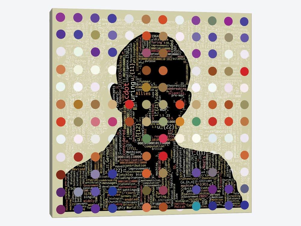 Turing Code by Czar Catstick 1-piece Canvas Artwork