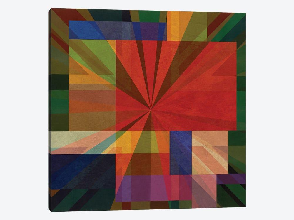 Union Squares I by Czar Catstick 1-piece Canvas Art