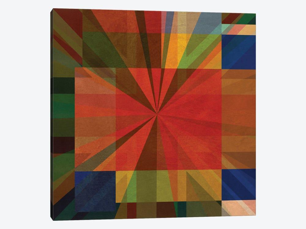 Union Squares VI by Czar Catstick 1-piece Canvas Artwork