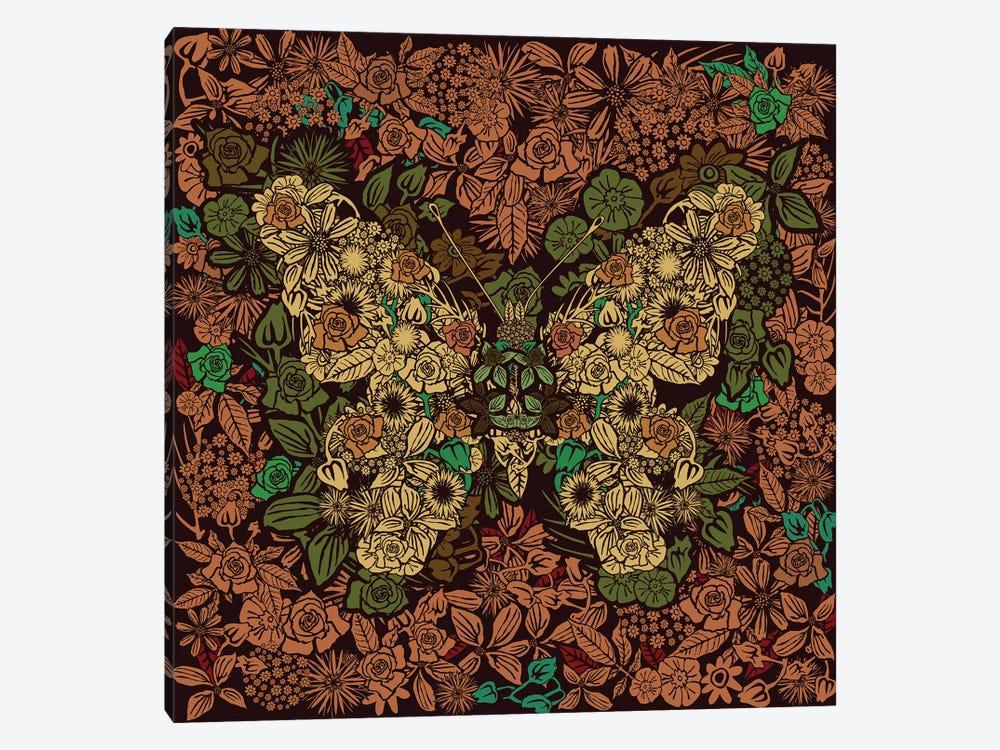 Butterfly Flower Garden by Czar Catstick 1-piece Art Print