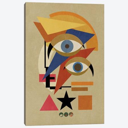 Bauwie Bauhaus III Canvas Print #CZC12} by Czar Catstick Canvas Wall Art