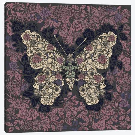 Butterfly New Gardens Canvas Print #CZC132} by Czar Catstick Canvas Wall Art