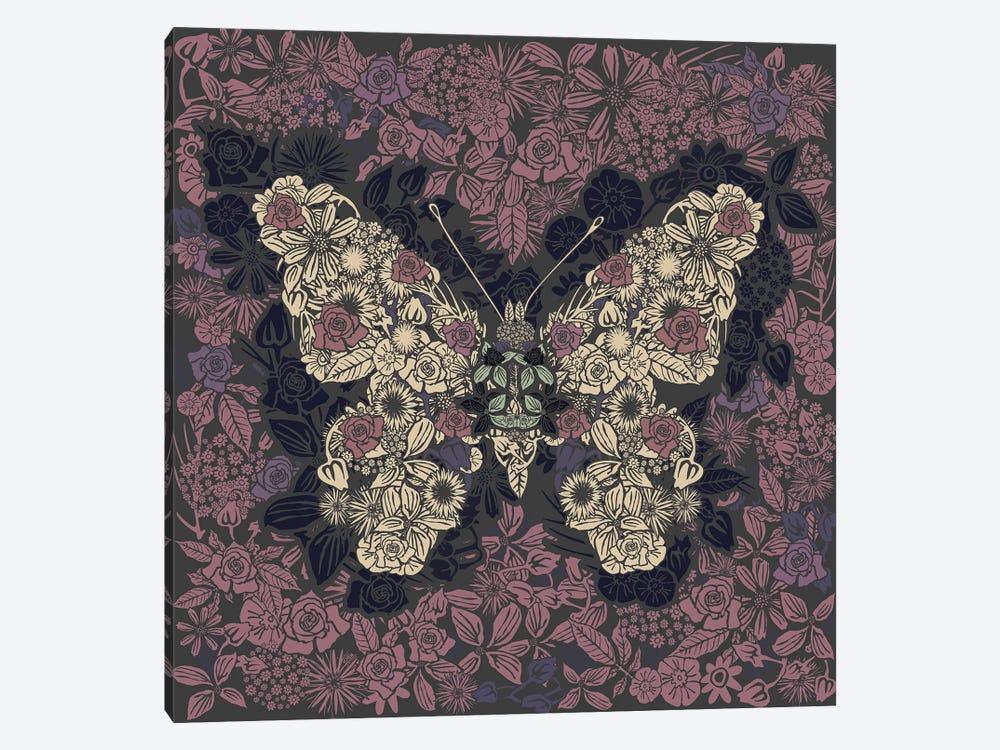Butterfly New Gardens by Czar Catstick 1-piece Art Print