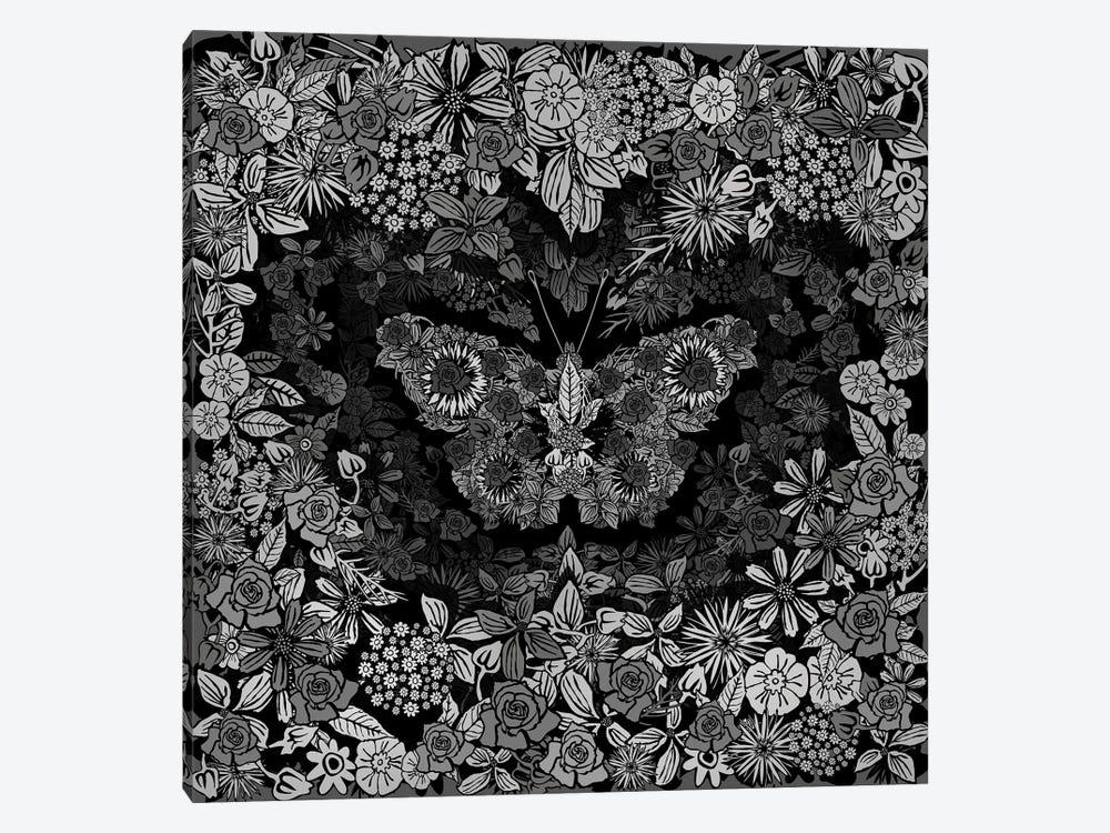 Papillon by Czar Catstick 1-piece Canvas Artwork