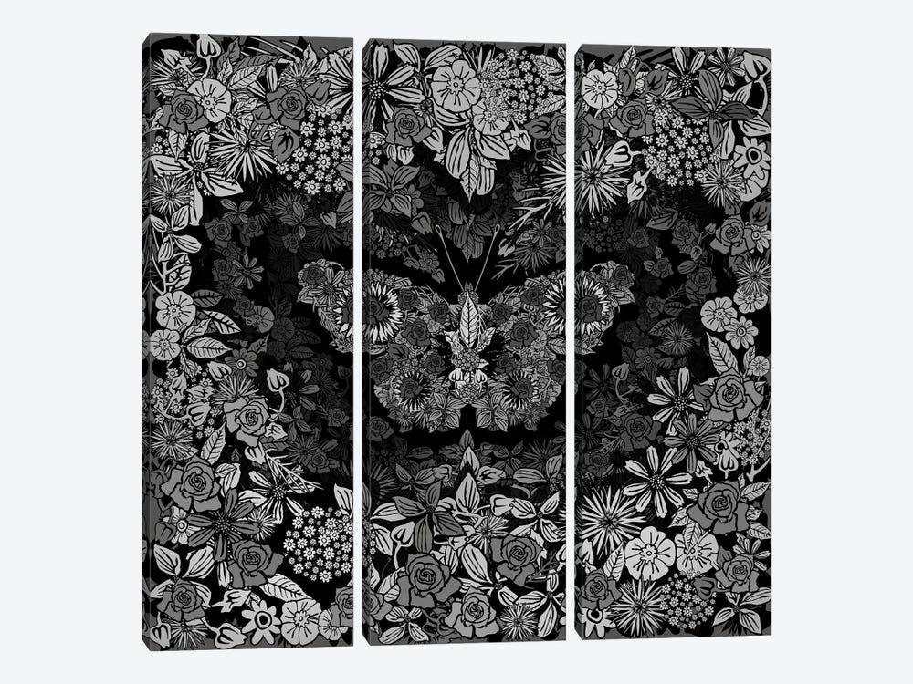 Papillon by Czar Catstick 3-piece Canvas Artwork