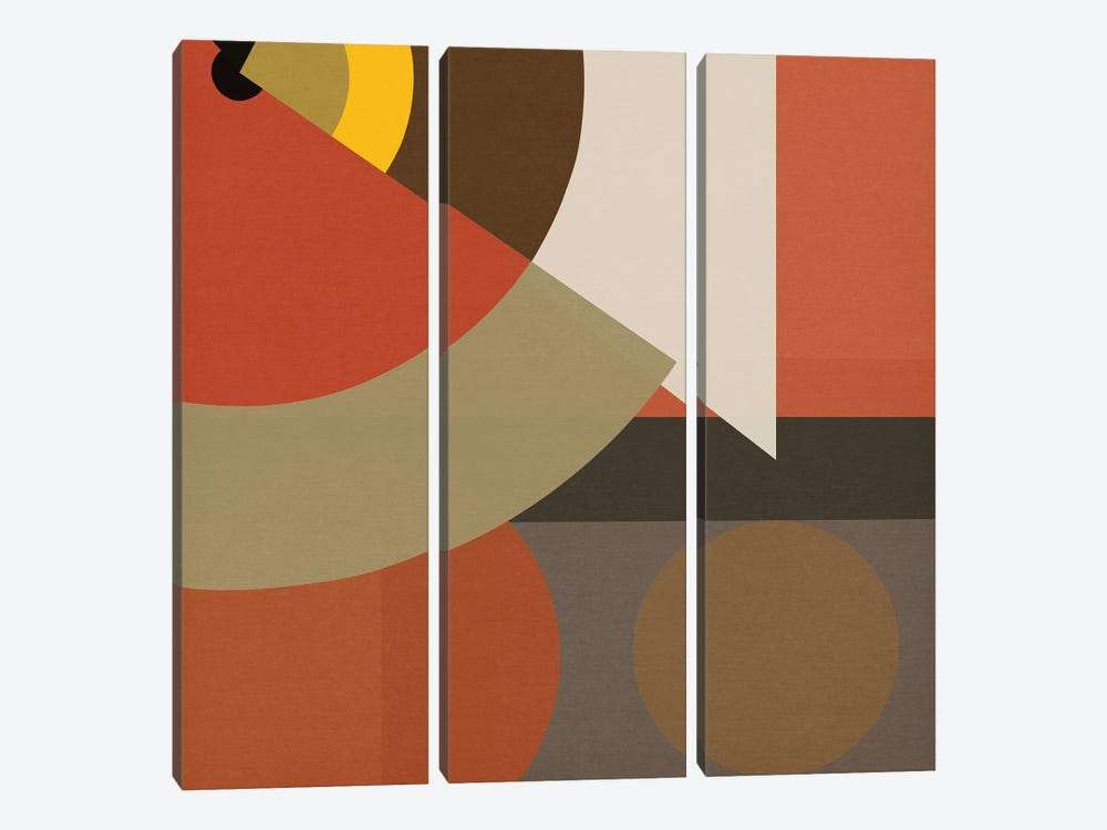 Bee's Knees III by Czar Catstick 3-piece Canvas Wall Art