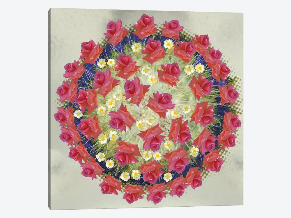 Corona Floris by Czar Catstick 1-piece Canvas Wall Art