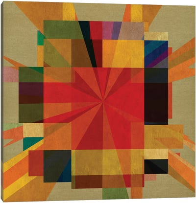 Deco Union VI Canvas Art Print