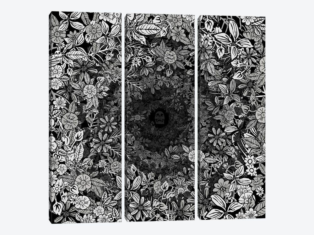 J'en Crève de Crever by Czar Catstick 3-piece Art Print