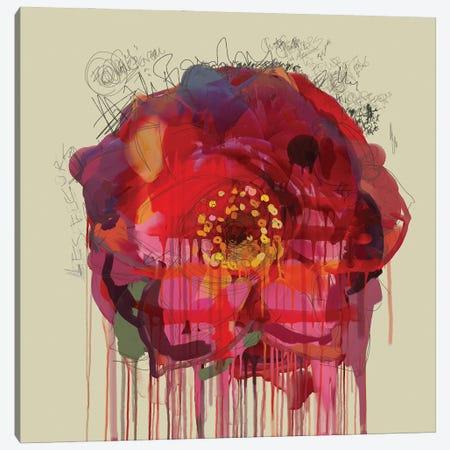 Le Bouquet Canvas Print #CZC53} by Czar Catstick Canvas Art