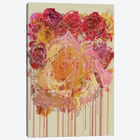 Les Fleurs I Canvas Print #CZC54} by Czar Catstick Art Print