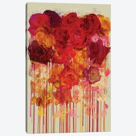 Les Fleurs II Canvas Print #CZC55} by Czar Catstick Canvas Art Print