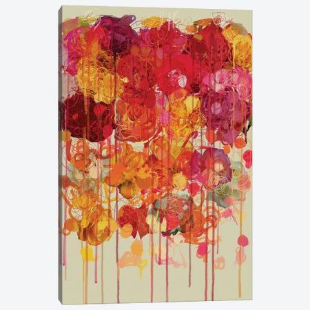 Les Fleurs IV Canvas Print #CZC57} by Czar Catstick Canvas Art Print