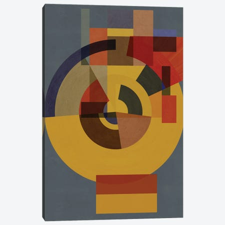 Making Shapes New II Canvas Print #CZC69} by Czar Catstick Art Print