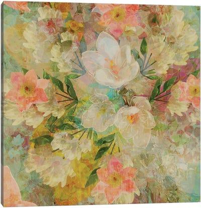 Alhambra Florals Canvas Art Print