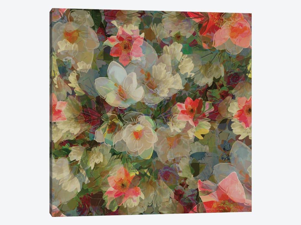 Alhambra Gardens by Czar Catstick 1-piece Canvas Artwork