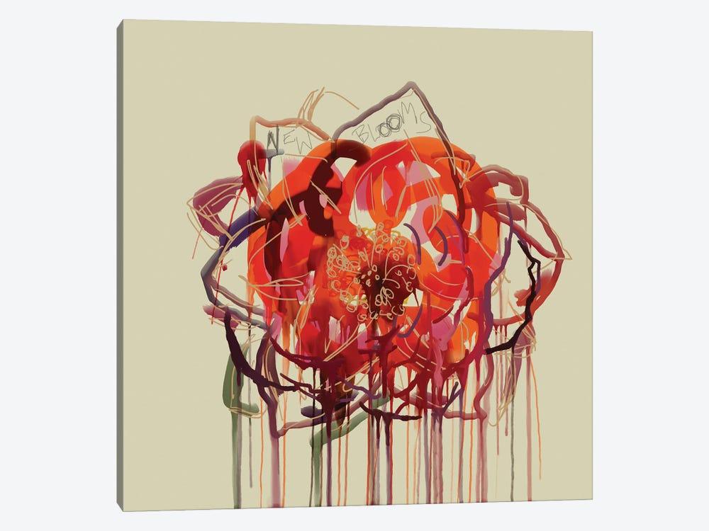 New Blooms by Czar Catstick 1-piece Art Print