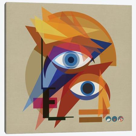 Bauhaus Bowie Canvas Print #CZC9} by Czar Catstick Canvas Art