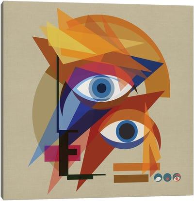 Bauhaus Bowie Canvas Art Print