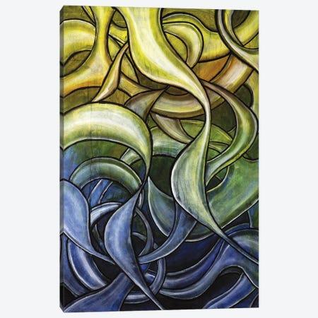 Abstract Movement Canvas Print #CZS15} by Carol Zsolt Canvas Print